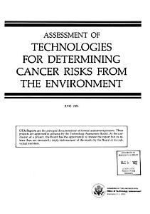 Assessment of Technologies for Determining Cancer Risks from the Environment