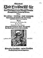 Scharwerk und Frondiest für den Abraham Brucker ... wider die nichtige ... Ehrenrettung Bart. Rülichs