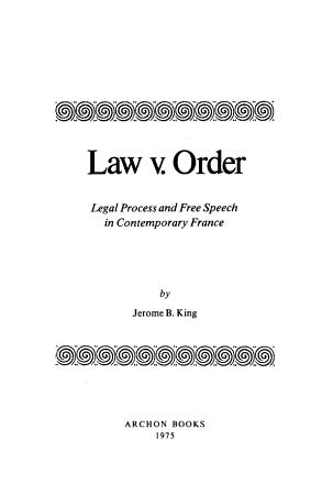 Law V  Order PDF