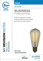 My Revision Notes  AQA A level Business  Third Edition PDF