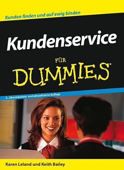 Kundenservice f  r Dummies PDF