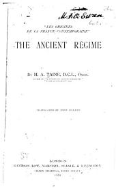 The Ancient Régime