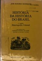 Hist  ria da hist  ria do Brasil PDF