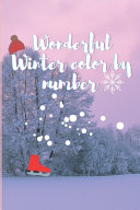 Wonderful Winter Color by Number PDF