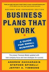 Business Plans that Work: A Guide for Small Business 2/E: Edition 2