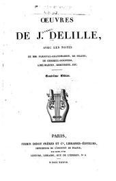 Oeuvres de J. Delille