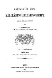 Österreichische militärische Zeitschrift: Band 4