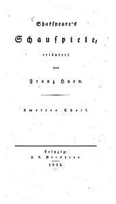 Shakspear's Schauspiele: Hamlet. - Der Sturm. - Ein Wintermärchen u.a. Th. 2