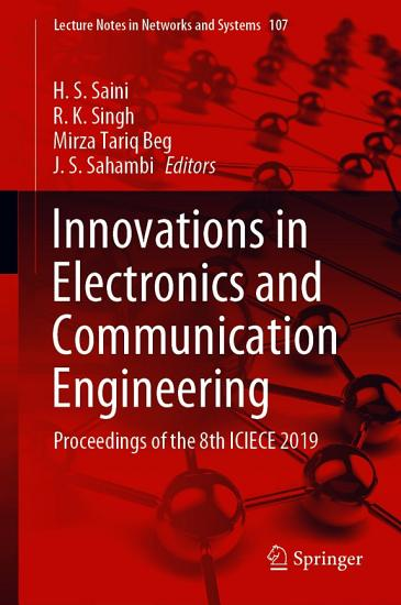 Innovations in Electronics and Communication Engineering PDF