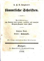 Prosaische Werke: in dreißig Bänden, mit ein und dreißig Stahlstichen. Schwänke. 1