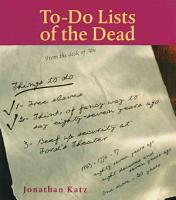 To Do Lists of the Dead PDF