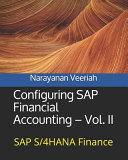 Configuring SAP Financial Accounting   Vol  II PDF