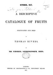 October, 1857. A Descriptive Catalogue of Fruits, etc