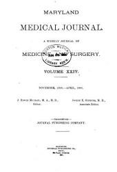 Maryland Medical Journal: Volume 24
