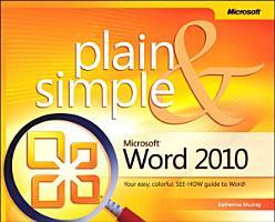 Microsoft Word 2010 Plain   Simple PDF