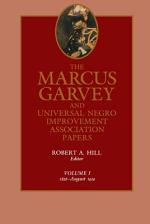 The Marcus Garvey and Universal Negro Improvement Association Papers, Vol. I