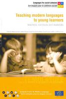 Teaching Modern Languages to Young Learners PDF