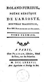 Roland furieux: poème héroi͏̈que de l'Arioste...
