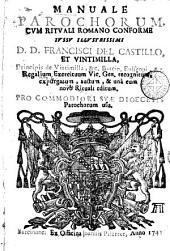 Manuale parochorum: cum rituali Romano conforme