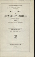 Catalog of Copyright Entries  New Series PDF