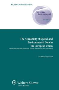 The Availability of Spatial and Environmental Data in the European Union PDF