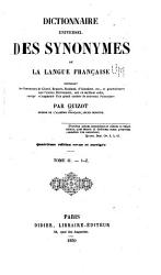 Dictionnaire universel des synonymes de la langue fran  aise  contenant les synonymes de Girard PDF