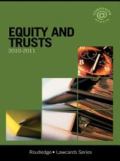 Equity and Trusts Lawcards 2010-2011: Edition 7