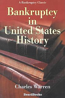 Bankruptcy in United States History Book