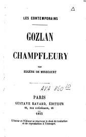 Gozlan, Champfleury