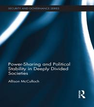 Power Sharing and Political Stability in Deeply Divided Societies PDF