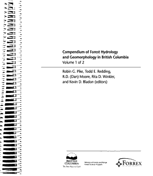 Compendium of Forest Hydrology and Geomorphology in British Columbia PDF