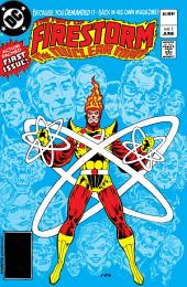 The Fury of Firestorm (1982-) #1