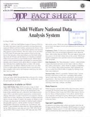 Child Welfare National Data Analysis System PDF