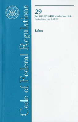 Code of Federal Regulations  Title 29  Labor  Pt  1910  Sec  1910  1000 End of Pt  1910   Revised as of July 1 2010 PDF