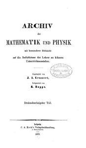 Archiv der Mathematik und Physik PDF