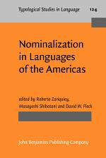Nominalization in Languages of the Americas