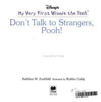 Don t Talk to Strangers  Pooh