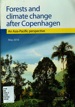 Forests and Climate Change After Copenhagen