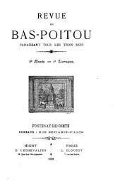 La Revue du Bas-Poitou et des Provinces de l'Ouest: Volume6