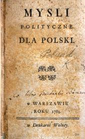Myśli Polityczne dla Polski
