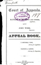 Court of Appeals: Appeal Book.