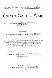 Gallic War: Complete Ed., Including Seven Books