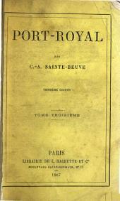 Port-Royal: Volume3