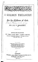 A Golden Treasury for the Children of God PDF