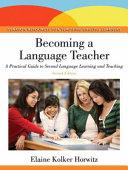 Download Becoming a Language Teacher Book
