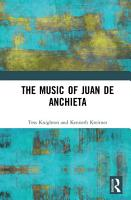 The Music of Juan de Anchieta PDF