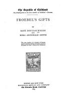 The Republic of Childhood     Froebel s gifts PDF
