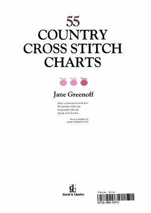 55 Country Cross Stitch Charts