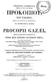 Patrologiæ cursus completus: seu, Bibliotheca universalis, integra, uniformis, commoda, oeconomica omnium SS. patrum, doctorum, scriptorumque ecclesiasticorum. Series græca, Volume 87