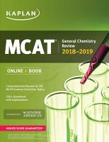MCAT General Chemistry Review 2018 2019 PDF